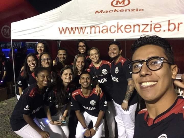 Alunos do curso de Fisioterapia do Mackenzie